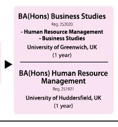 Advancement Path - BA(Hons)