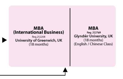 Advancement Path - MBA